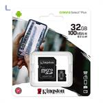 micro sd hc 32gb + adattatore sd class 10 video kingston *434